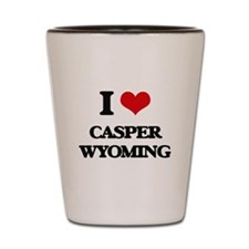 I love Casper Wyoming Shot Glass