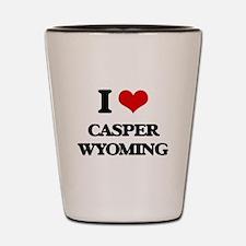 I love Casper Wyoming Shot Glass