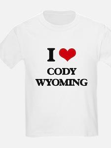 I love Cody Wyoming T-Shirt