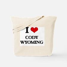 I love Cody Wyoming Tote Bag