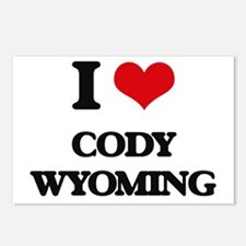 I love Cody Wyoming Postcards (Package of 8)