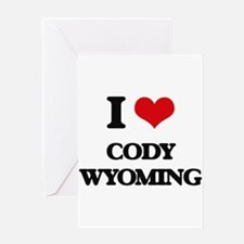 I love Cody Wyoming Greeting Cards