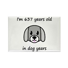 91 dog years 2 - 2 Magnets