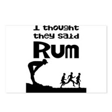 I thought they said Rum Postcards (Package of 8)