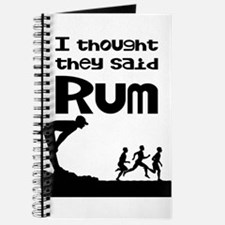 I thought they said Rum Journal