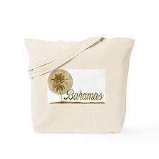 Palm Tree Bahamas Tote Bag