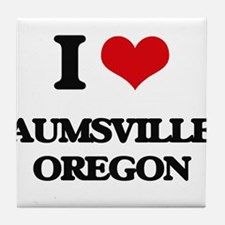 I love Aumsville Oregon Tile Coaster