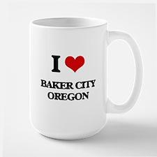 I love Baker City Oregon Mugs