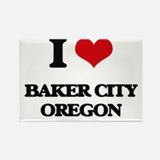I love Baker City Oregon Magnets