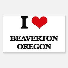 I love Beaverton Oregon Decal