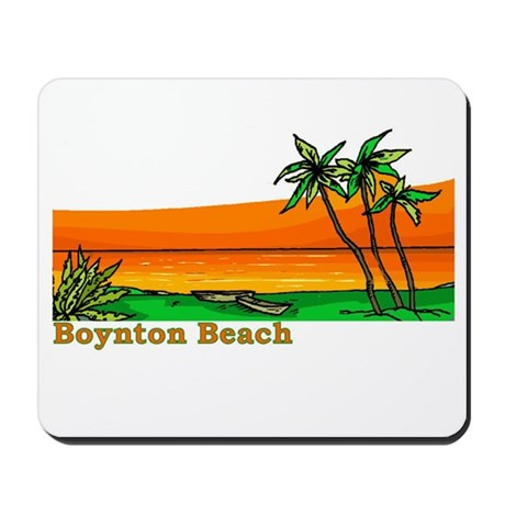 Boynton Beach, Florida Mousepad