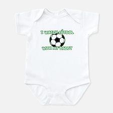 Futbol Daddy Onesie