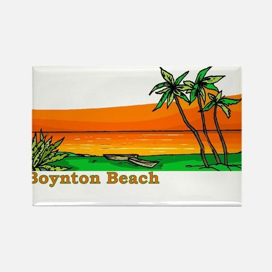 Boynton Beach, Florida Rectangle Magnet