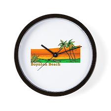 Boynton Beach, Florida Wall Clock