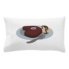Steak Dinner Pillow Case