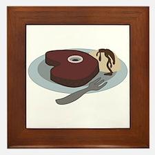 Steak Dinner Framed Tile