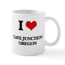 I love Cave Junction Oregon Mugs