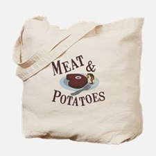 Meat & Potatoes Tote Bag