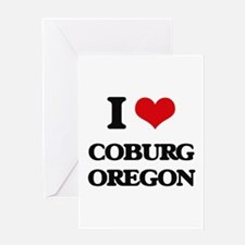 I love Coburg Oregon Greeting Cards