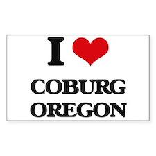 I love Coburg Oregon Decal