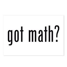 got math? Postcards (Package of 8)