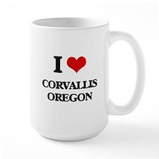 I love Corvallis Oregon Mugs