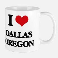 I love Dallas Oregon Mug