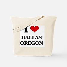 I love Dallas Oregon Tote Bag