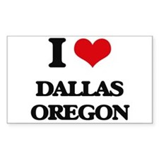I love Dallas Oregon Decal