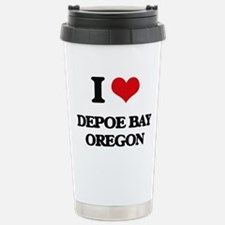 I love Depoe Bay Oregon Travel Mug