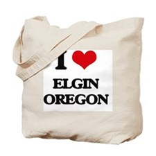 I love Elgin Oregon Tote Bag