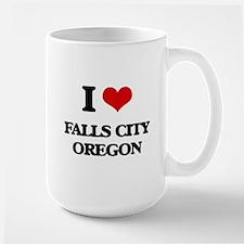 I love Falls City Oregon Mugs