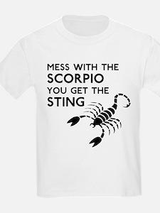 Scorpio Stings T-Shirt