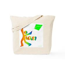 Kian Rainbow Design Tote Bag