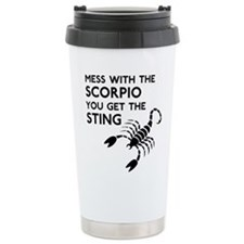 Scorpio Stings Travel Mug