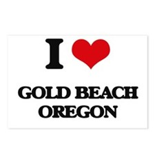I love Gold Beach Oregon Postcards (Package of 8)