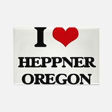 I love Heppner Oregon Magnets