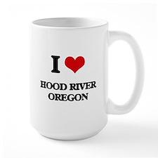 I love Hood River Oregon Mugs