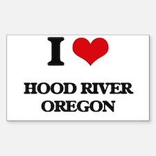 I love Hood River Oregon Decal