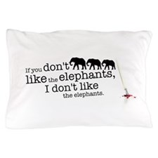 If you don't like the elephants Pillow Case