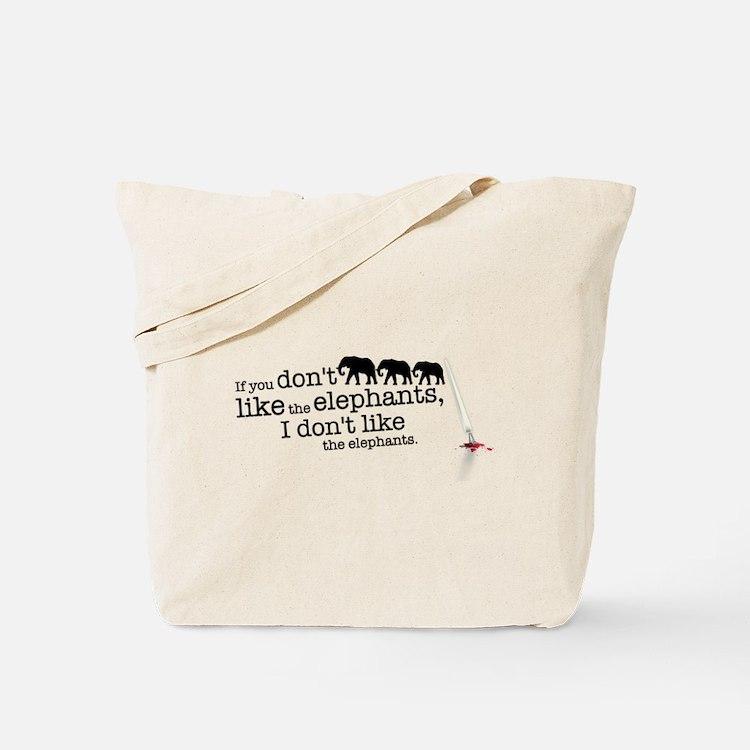 If you don't like the elephants Tote Bag