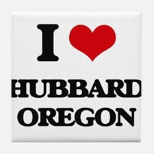 I love Hubbard Oregon Tile Coaster