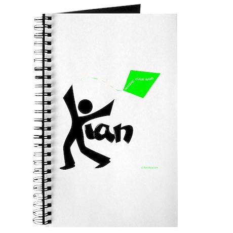 Kian Black and Green Design Journal