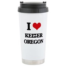 I love Keizer Oregon Travel Mug