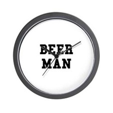 Beer Man Wall Clock