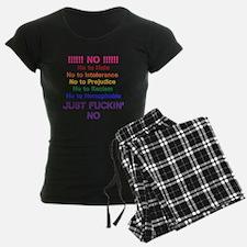 No to Hate pajamas