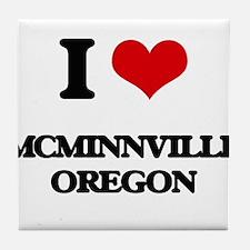 I love McMinnville Oregon Tile Coaster
