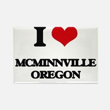 I love McMinnville Oregon Magnets