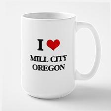 I love Mill City Oregon Mugs