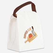 Supper Club Canvas Lunch Bag